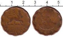 Изображение Монеты Эфиопия 25 центов 1944 Медь VF