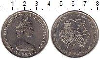 Изображение Монеты Великобритания Остров Вознесения 25 пенсов 1981 Медно-никель XF