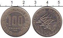 Изображение Монеты Габон 100 франков 1975 Медно-никель XF