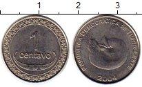 Изображение Монеты Тимор 1 сентаво 2004 Медно-никель UNC-
