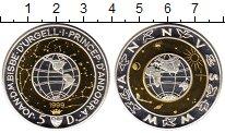 Изображение Монеты Андорра 5 динерс 1999 Серебро Proof