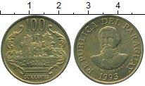 Изображение Монеты Парагвай 100 гуарани 1993 Латунь XF