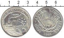 Изображение Монеты Великобритания Южная Африка 1 ранд 1995 Серебро UNC-