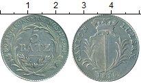 Изображение Монеты Люцерн 5 батзен 1816 Серебро UNC-