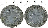 Изображение Монеты Швейцария Солотурн 20 батзен 1795 Серебро XF-