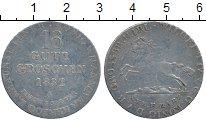 Изображение Монеты Германия Ганновер 16 грош 1832 Серебро XF-
