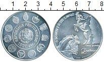 Монета Португалия 1000 эскудо Серебро 2000 UNC-