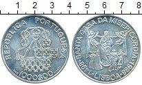 Монета Португалия 1000 эскудо Серебро 1998 UNC- фото