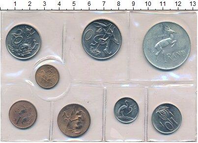 Изображение Наборы монет ЮАР Набор монет 1973 года 1973  UNC- Набор из восьми моне