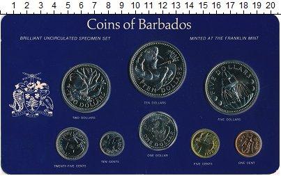 Изображение Подарочные монеты Барбадос Выпуск 1978 года 1978  BUNC Представляем вам рег