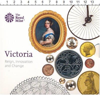 Изображение Подарочные монеты Великобритания 5 фунтов 2019 Медно-никель UNC Виктория - царствова