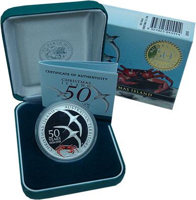 Набор монет Австралия 1 доллар Серебро 2008 Proof