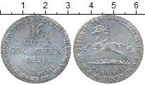 Изображение Монеты Германия Брауншвайг-Люнебург 16 гутегрош 1831 Серебро XF