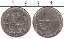 Монета Румыния 50 лей Медно-никель 1938 XF