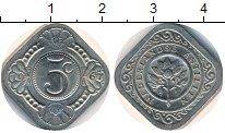 Изображение Дешевые монеты Нидерланды Антильские острова 5 центов 1967 Медно-никель UNC