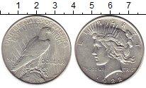 Изображение Монеты США 1 доллар 1922 Серебро XF-