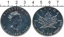 Монета Канада 5 долларов Серебро 1994 UNC- фото