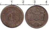 Изображение Монеты Великобритания Борнео 1 цент 1935 Медно-никель XF-
