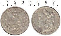 Изображение Монеты США 1 доллар 1881 Серебро VF