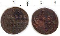 Изображение Монеты Германия Саксе-Альтенбург 1 хеллер 1709 Медь VF