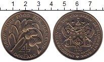 Изображение Монеты Сент Киттс-Невис 4 доллара 1970 Медно-никель UNC-