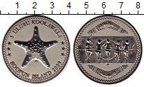 Изображение Монеты Австралия 5 улуру 2009 Медно-никель XF