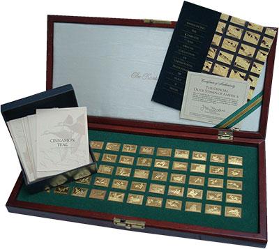 Изображение Подарочные монеты США Утки Америки 1988 Серебро UNC- Полная и официальная