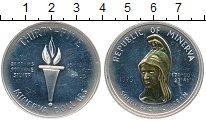 Изображение Монеты Минерва  35 долларов 1973 Серебро UNC-