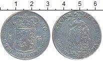 Изображение Монеты Голландия 1 гульден 1764 Серебро VF