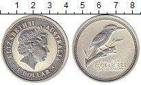 Монета Австралия 1 доллар Серебро 2003 Proof- фото