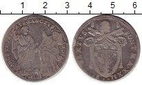 Изображение Монеты Италия 1 тестон 1796 Серебро VF