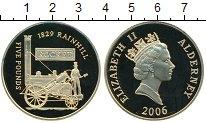 Изображение Монеты Великобритания Олдерни 5 фунтов 2006 Серебро Proof-