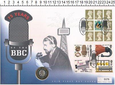 Изображение Монеты Великобритания 2 фунта 1997 Биметалл UNC Елизавета II.  Истор