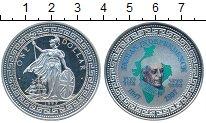 Изображение Мелочь Великобритания 1 доллар 1997 Посеребрение UNC-