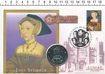 Изображение Подарочные монеты Великобритания Медаль 1997 Медно-никель UNC Генрих VIII и его же