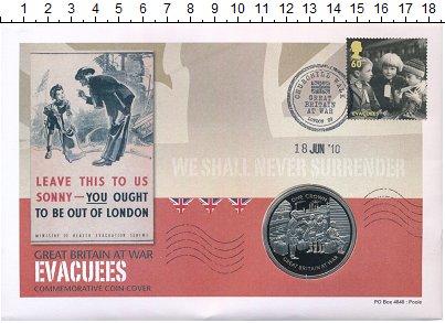 Изображение Подарочные монеты Гибралтар 1 крона 2010 Медно-никель UNC Великобритания в вой