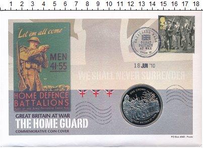 Изображение Подарочные монеты Гибралтар 1 крона 2010 Медно-никель UNC `Великобритания в во