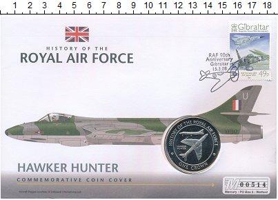 Изображение Подарочные монеты Гибралтар 1 крона 2008 Медно-никель UNC `История Королевских