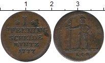 Изображение Монеты Германия Брауншвайг-Люнебург-Каленберг-Ганновер 1 пфенниг 1777 Медь VF