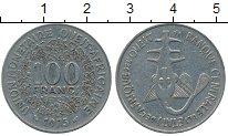 Изображение Дешевые монеты Западно-Африканский Союз 100 франков 1975