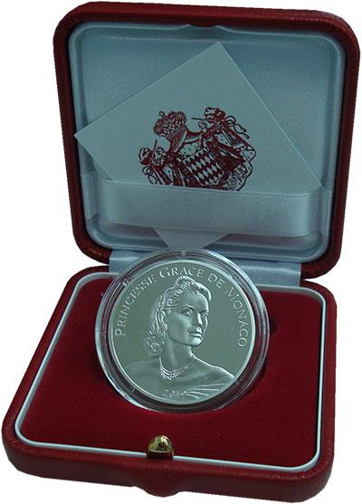 Изображение Подарочные монеты Монако 10 евро 2019 Серебро Proof Принцесса Грейс, сер