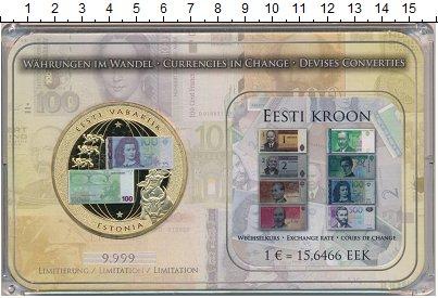 Изображение Подарочные монеты Эстония Медаль 0 Медно-никель Proof- Страны перешедшие на