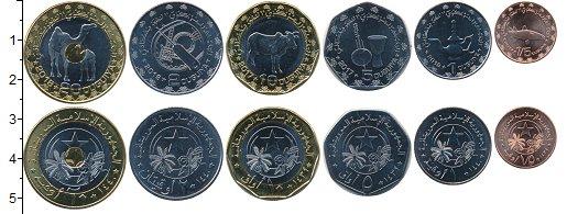 Изображение Наборы монет Мавритания Набор 2017 года 2017  UNC Набор из шести монет