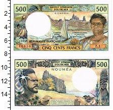 Изображение Банкноты Франция Новая Каледония 500 франков 1985  UNC