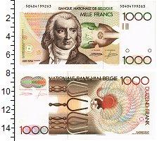 Банкнота Бельгия 1000 франков XF фото