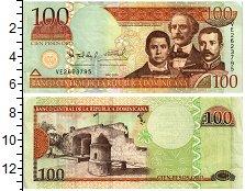 Изображение Банкноты Доминиканская республика 100 песо 2009  XF