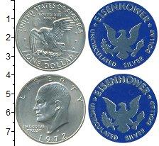 Изображение Наборы монет США Набор 1972 года 1972 Серебро UNC В наборе  1 доллар и