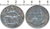 Монета США 1/2 доллара Серебро 1935 XF фото