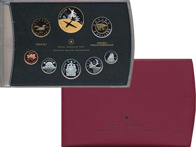 Изображение Подарочные монеты Канада Набор 2009 года Пруф 2009  Proof В набор входят семь