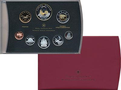 Изображение Подарочные монеты Канада Набор 2011 года Пруф 2011  Proof В набор входят семь